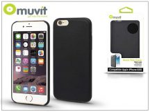 Apple iPhone 6/6S hátlap - Muvit Back Thin Case - black