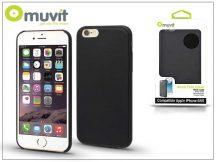 Apple iPhone 6/6S hátlap - Muvit Back Thin Case - black