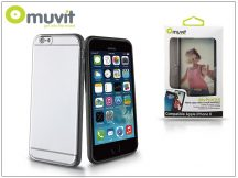 Apple iPhone 6/6S hátlap - Muvit MyFrame - black/transparent