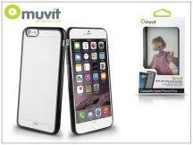 Apple iPhone 6 Plus/6S Plus hátlap - Muvit Bimat - black/transparent