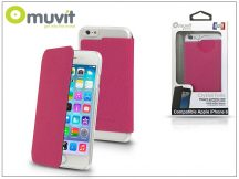 Apple iPhone 6/6S flipes tok - Muvit Crystal Folio - pink
