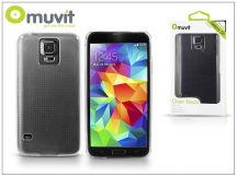 Samsung SM-G900 Galaxy S5 kristály hátlap - Muvit Clear Back - clear