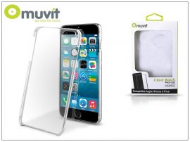 Apple iPhone 6 Plus/6S Plus hátlap - Muvit Clear Back - transparent