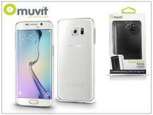 Samsung SM-G928 Galaxy S6 Edge+  hátlap - Muvit Clear Back - clear