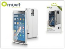 Samsung SM-G900 Galaxy S5 flipes tok - Muvit Window Folio - white