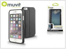 Apple iPhone 6 flipes tok - Muvit Window Folio - black