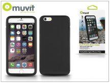 Apple iPhone 6 Plus/6S Plus ütésálló védőtok - Muvit Full Protection Case - black