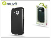 Samsung i8190 Galaxy S III Mini hátlap - Muvit miniGel - black