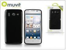 Huawei Ascend G510 hátlap - Muvit miniGel - black