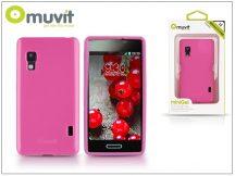 LG E460 Optimus L5 II hátlap - Muvit miniGel - pink