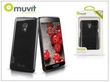 LG P710 Optimus L7 II hátlap - Muvit miniGel Glazy - black