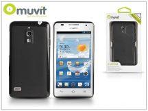 Huawei Ascend G526 hátlap - Muvit miniGel - black