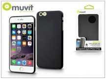 Apple iPhone 6 Plus/6S Plus hátlap - Muvit ThinGel - black