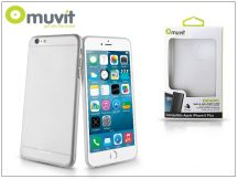 Apple iPhone 6 Plus/6S Plus szilikon hátlap - Muvit ThinGel - transparent
