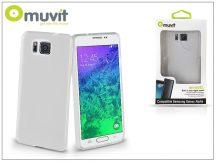 Samsung SM-G850 Galaxy Alpha hátlap - Muvit miniGel - clear