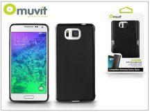 Samsung SM-G850 Galaxy Alpha hátlap - Muvit miniGel - black