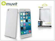 Apple iPhone 6 Plus/6S Plus hátlap - Muvit miniGel - white