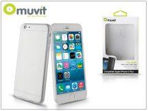 Apple iPhone 6 Plus/6S Plus hátlap - Muvit miniGel - transparent