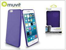Apple iPhone 6 Plus/6S Plus hátlap - Muvit miniGel - lila