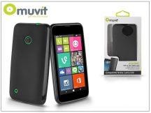 Nokia Lumia 530 hátlap - Muvit miniGel - black