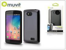 LG F60 D390N hátlap - Muvit miniGel - black