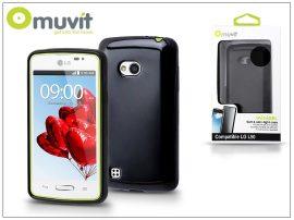LG L50 D213N hátlap - Muvit miniGel - black