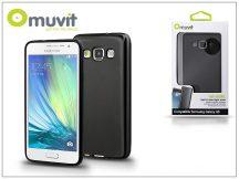 Samsung SM-A500F Galaxy A5 hátlap - Muvit miniGel - black