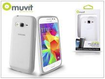 Samsung SM-G360F Galaxy Core Prime hátlap - Muvit miniGel - transparent