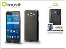 Samsung SM-G530 Galaxy Grand Prime hátlap - Muvit miniGel - black