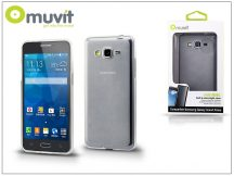 Samsung SM-G530 Galaxy Grand Prime hátlap - Muvit miniGel - transparent