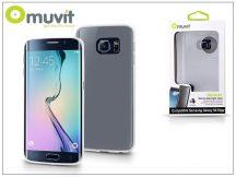 Samsung SM-G925 Galaxy S6 Edge hátlap - Muvit ThinGel - transparent