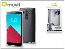 LG G4 H815 hátlap - Muvit miniGel - transparent