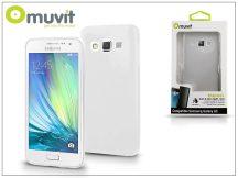 Samsung SM-A300F Galaxy A3 hátlap - Muvit ThinGel - transparent