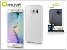 Samsung SM-G928 Galaxy S6 Edge Plus hátlap - Muvit ThinGel - transparent