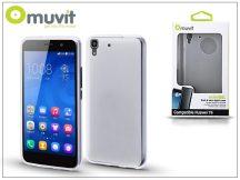 Huawei Y6/Honor 4A hátlap - Muvit miniGel - transparent