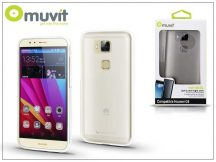 Huawei G8 hátlap - Muvit miniGel - transparent