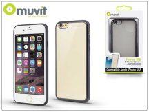 Apple iPhone 6/6S hátlap - Muvit Frame TPU - clear/black