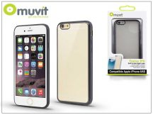 Apple iPhone 6/6S hátlap - Muvit Frame TPU - clear/black
