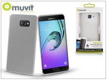 Samsung A710F Galaxy A7 (2016) hátlap - Muvit ThinGel - transparent