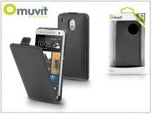 HTC One Mini flipes tok - Muvit Slim - black