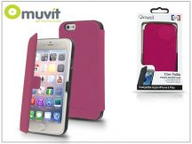 Apple iPhone 6 Plus/6S Plus flipes tok - Muvit Slim Folio - pink