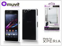Sony Xperia Z1 Compact (D5503) hátlap - Made for Xperia Muvit Bimat - white/clear