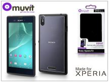 Sony Xperia T3 (D5103) hátlap - Made for Xperia Muvit Bimat - black/clear