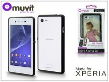 Sony Xperia E3 (D2203) hátlap - Made for Xperia Muvit My Frame - black/clear