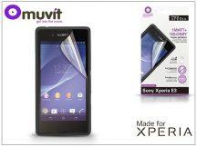 Sony Xperia E3 (D2203) képernyővédő fólia - Made for Xperia Muvit - 2 db/csomag - matt/glossy