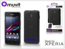 Sony Xperia E1 (D2005) hátlap - Made for Xperia Muvit miniGel - black