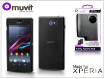 Sony Xperia M2 (D2305) hátlap - Made for Xperia Muvit miniGel - black