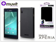Sony Xperia T3 (D5103) hátlap - Made for Xperia Muvit miniGel - black