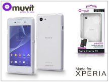 Sony Xperia E3 (D2203) hátlap - Made for Xperia Muvit miniGel - clear