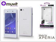 Sony Xperia E3 (D2203) hátlap - Made for Xperia Muvit miniGel - clear